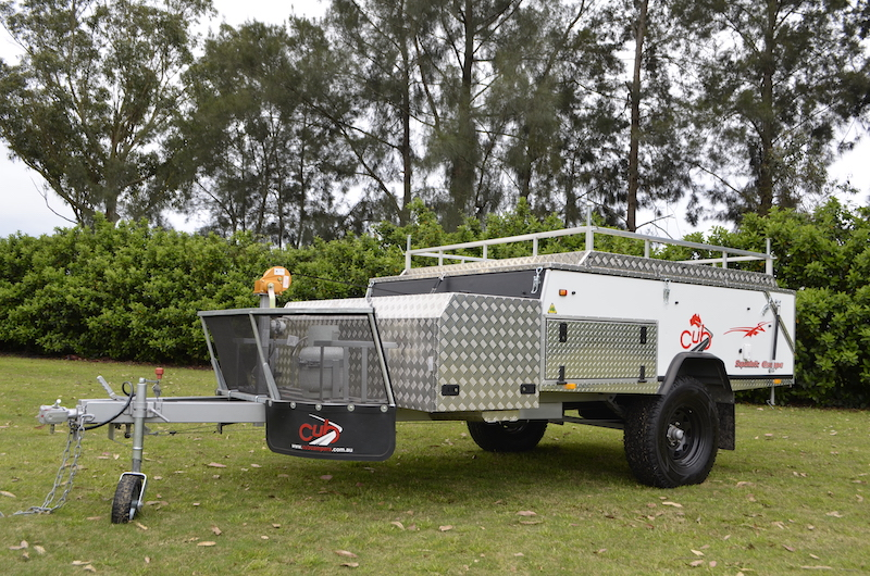 Cub Supamatic Escape Camper Trailer